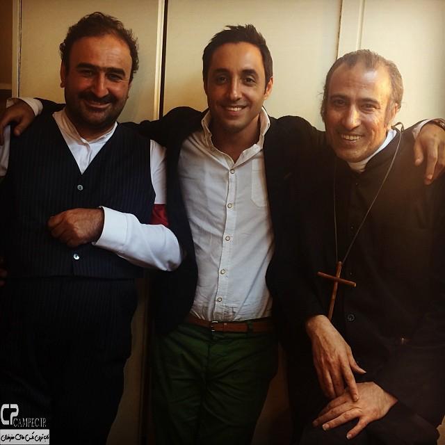 امیر حسین رستمی و مهران احمدی