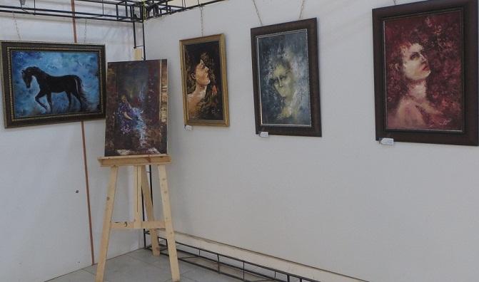 نمایشگاه نقاشی شیرین موید