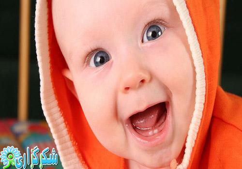 در نیاوردن دندان_کودک_نوزاد_دندان شیری