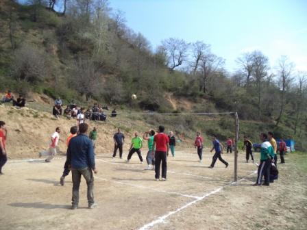 تصاویرمسابقات والیبال روستای جناسم