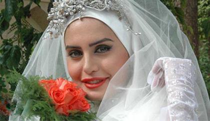 عکس عروسی الناز شاکردوست