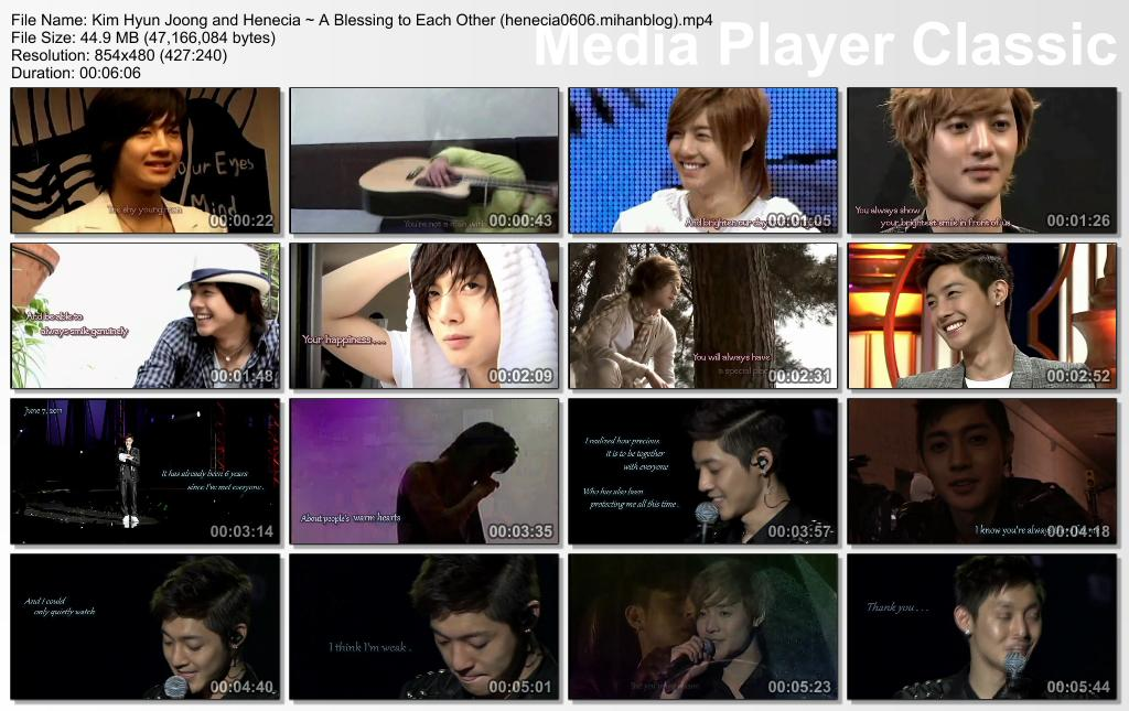 A Must Watch Video_Kim Hyun Joong and Henecia ~ A Blessing to Each Other