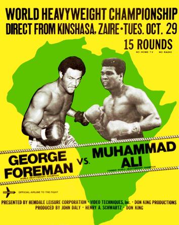دانلود مبارزه محمد علی کلی و جورج فورمن Muhammad ali vs George Foreman