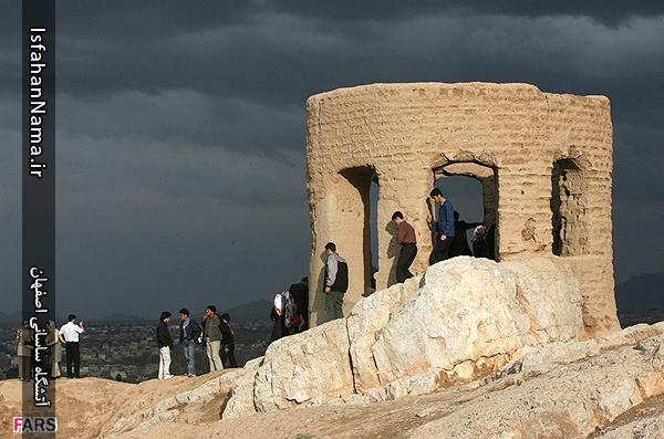 آتشگاه ساسانی اصفهان