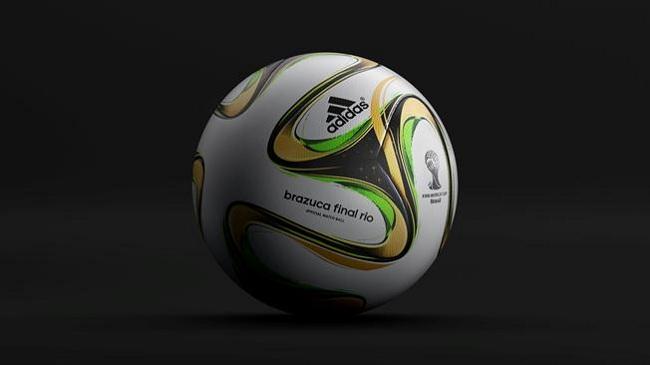 توپ فینال جام جهانی 2014 برزیل رونمایی شد