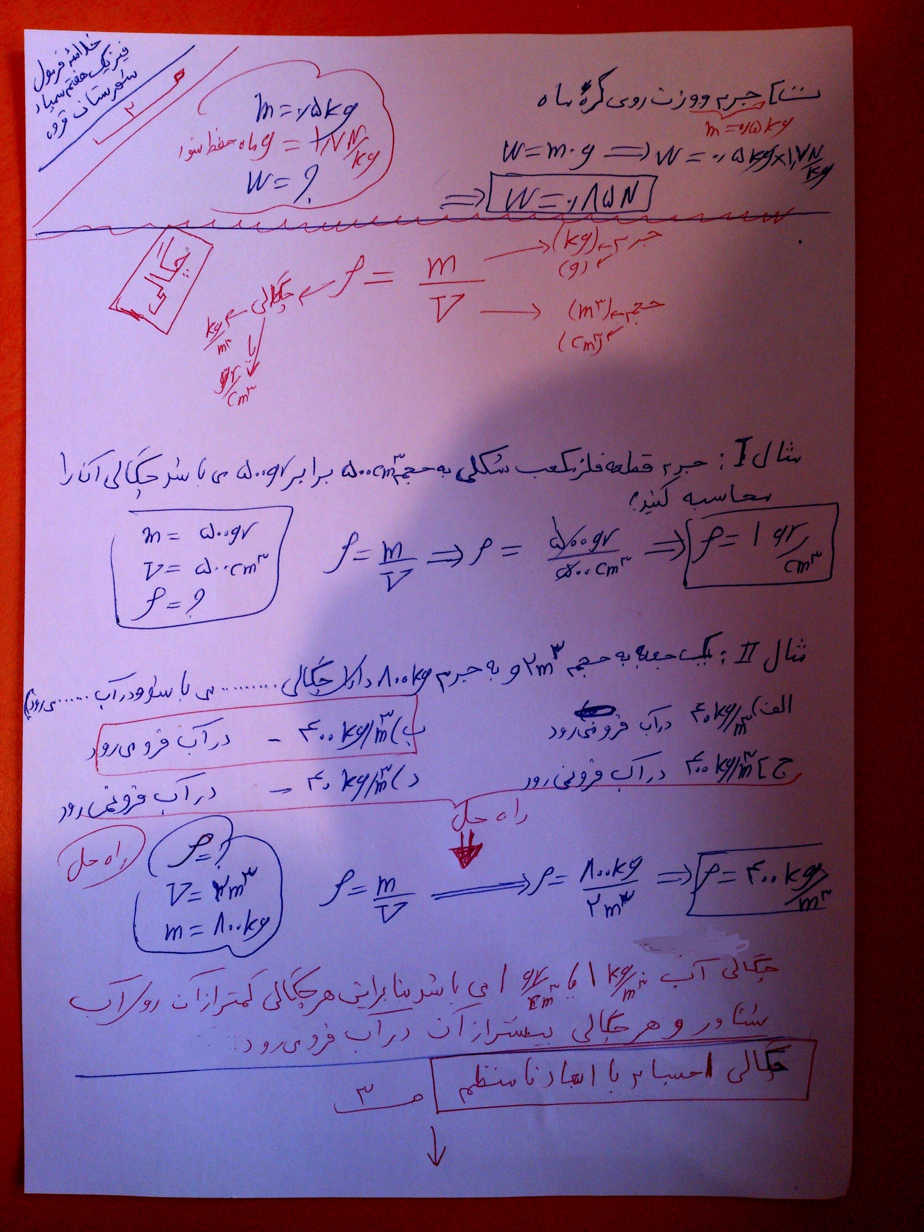 پاسخنامه کتاب تکمیلی ریاضی هشتم سمپاد