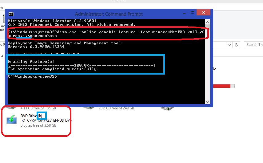 cmd netfremwork 3.5