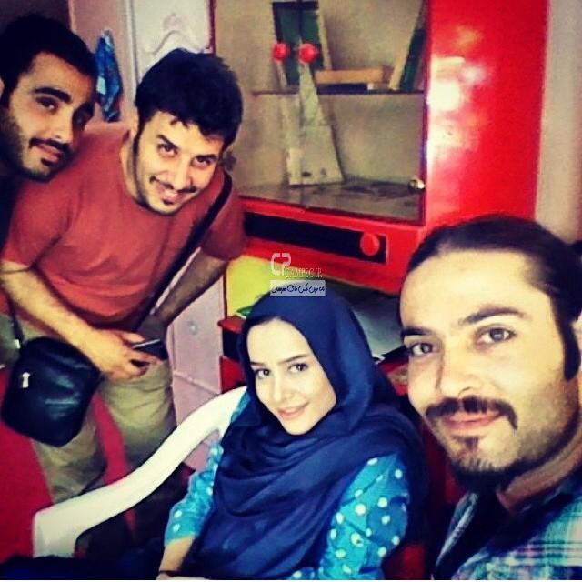 الناز حبیبی و جواد عزتی