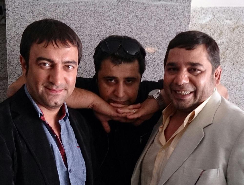 داریوش سلیمی و مجید صالحی