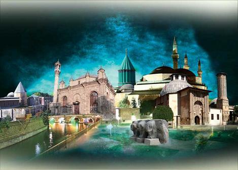 آرامگاه حضرت مولانا