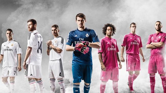 لباس جدید رئال مادرید برای فصل 15-2014 رونمایی شد