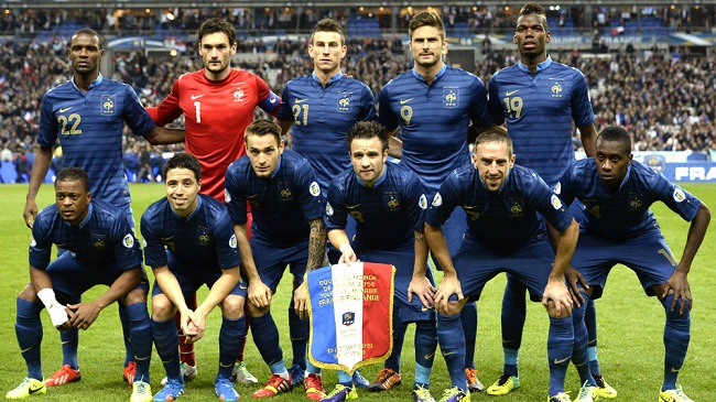 23 بازیکنان نهایی تیم ملی فرانسه در جام جهانی 2014 برزیل مشخص شد