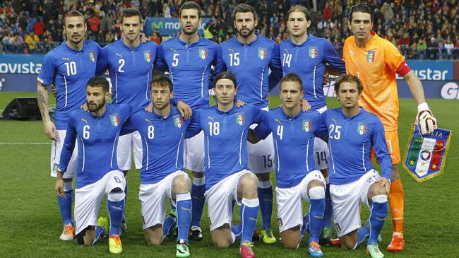 فهرست ۲۳ نفره ایتالیا برای جام جهانی اعلام شد