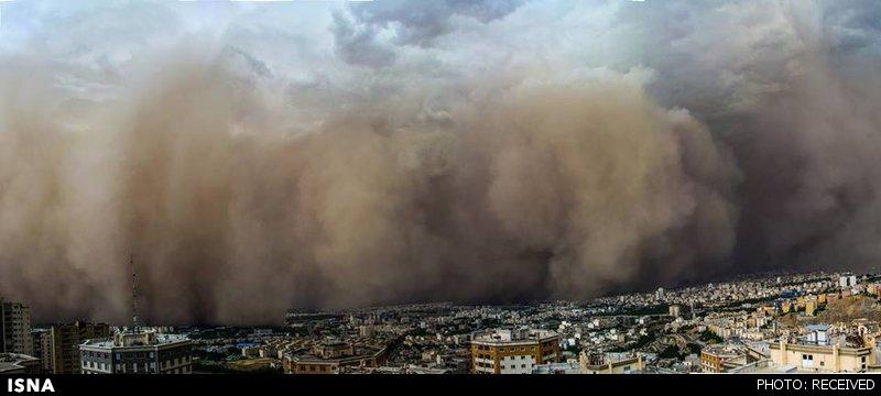 توفان تهران 1393