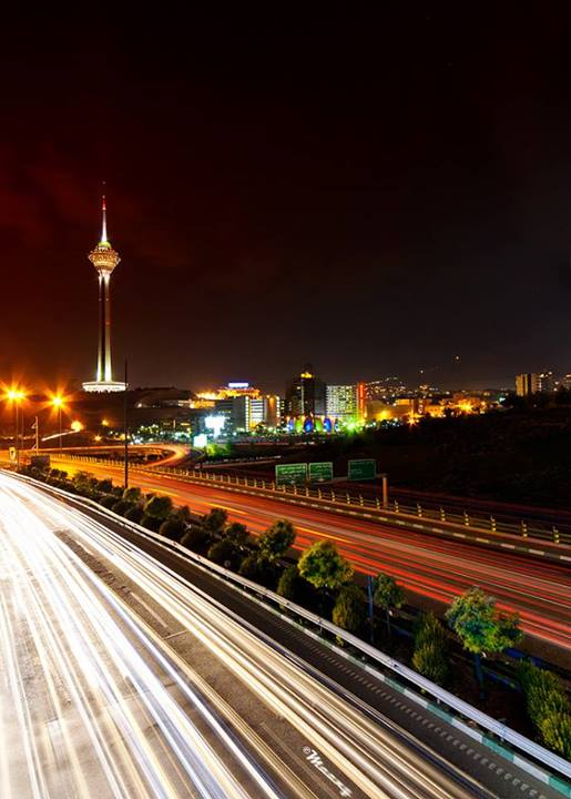 تهران درشب