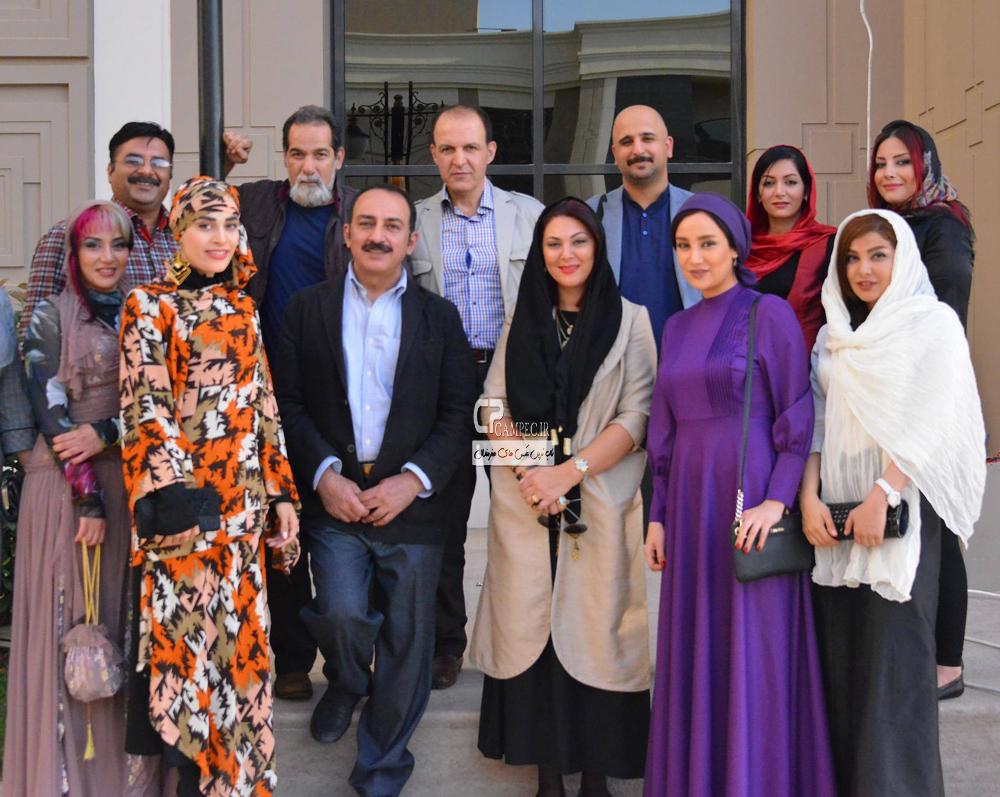 جدید ترین عکس های بهاره افشاری در جشنواره فیلم اربیل