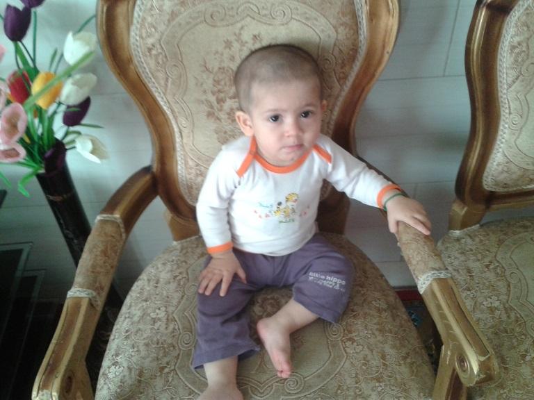 امیر علی یوسفی، عکس بچه