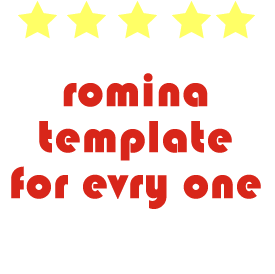 Romina template for evry one