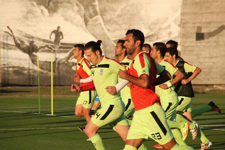 عکس های اولین تمرین تیم ملی فوتبال در برزبل