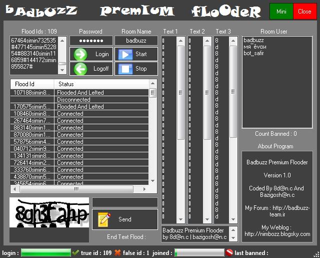 Badbuzz Premium Flooder F2