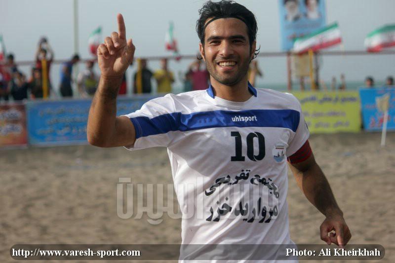 احسان حسین نژاد - فوتبال ساحلی