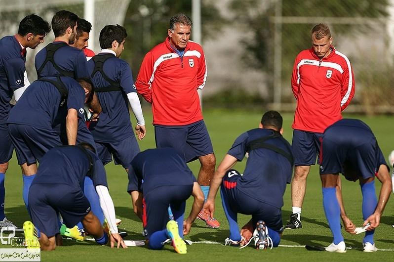 عکس های نخستین تمرین تیم ملی فوتبال ایران در سائوپائولو - برزیل