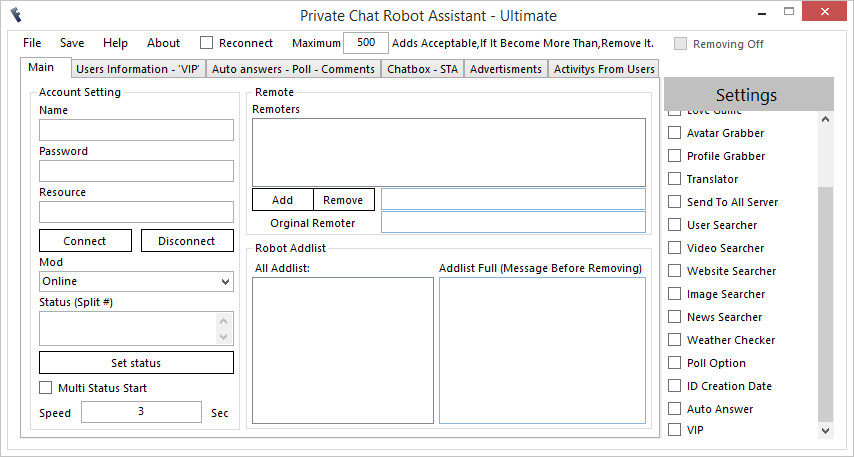FreeBuzz™ Private Chat Robot Assistant Versian 3.0.0.0 1x