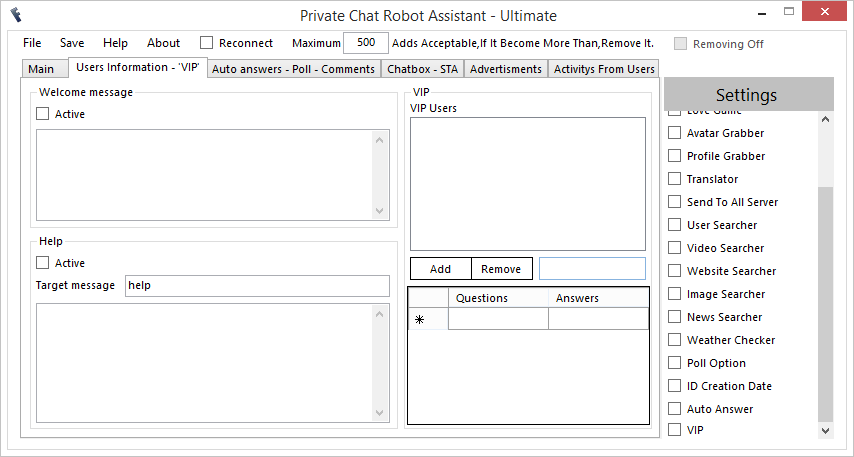 FreeBuzz™ Private Chat Robot Assistant Versian 3.0.0.0 2x