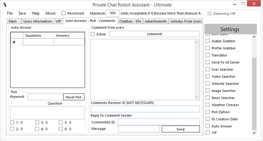 FreeBuzz™ Private Chat Robot Assistant Versian 3.0.0.0 3x