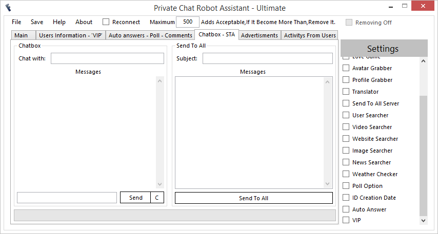 FreeBuzz™ Private Chat Robot Assistant Versian 3.0.0.0 4x