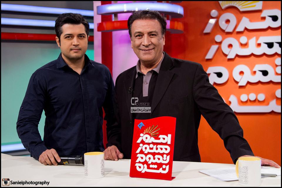 عبدالرضا اکبری و پسرش پندار