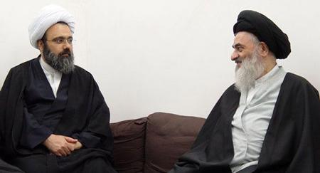 سید صادق شیرازی و دانشمند