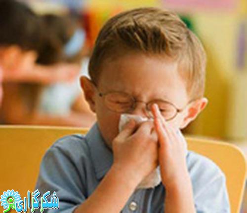 آسم-آلرژی-حساسیت-بینی-عکس-کودک-نوزاد