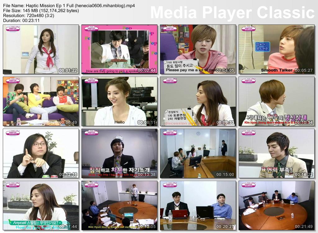 Eng Sub_Hyun Joong - Haptic Mission Ep 1 Full
