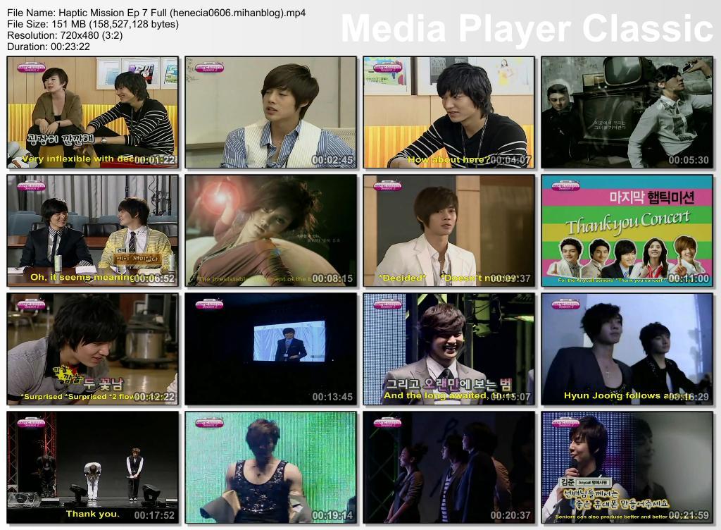 Eng Sub_Hyun Joong - Haptic Mission Ep 7 Full