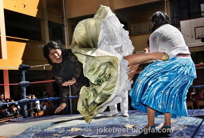 عکس خنده دار زنان