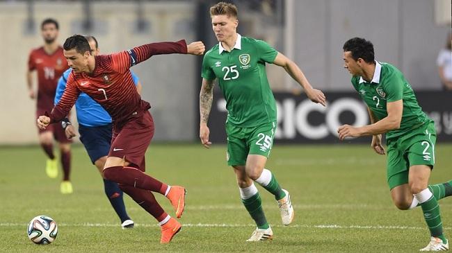 پرتغال با ۵ گل ایرلند را شکست داد/ رونالدو ۶۵ دقیقه بازی کرد