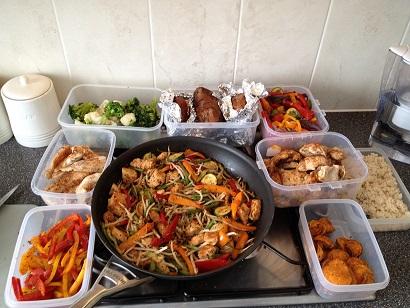 نمونه ای از رژیم غذایی برای بدنسازی