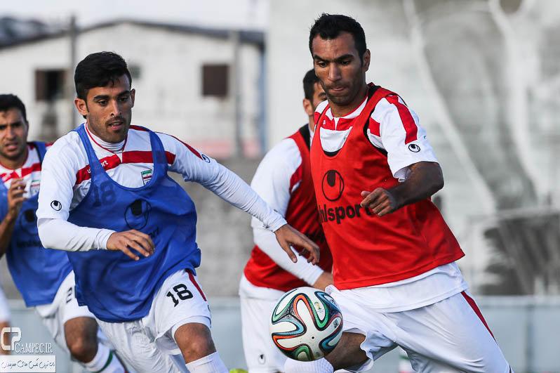 عکس های تمرین تیم ملی ایران در برزیل