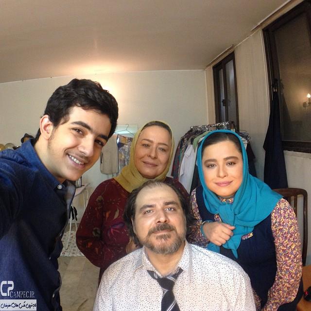 مهراوه شریفی نیا و مادرش آزیتا حاجیان