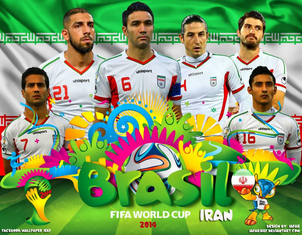 اخبار تیم ملی ایران در جام جهانی 2014 برزیل