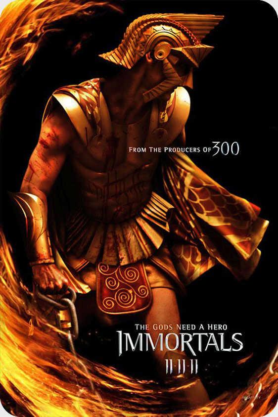 فیلم Immortals 2011