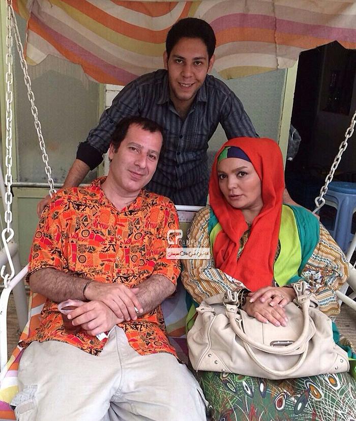شهرزاد عبدالمجید و رامین ناصر نصیر