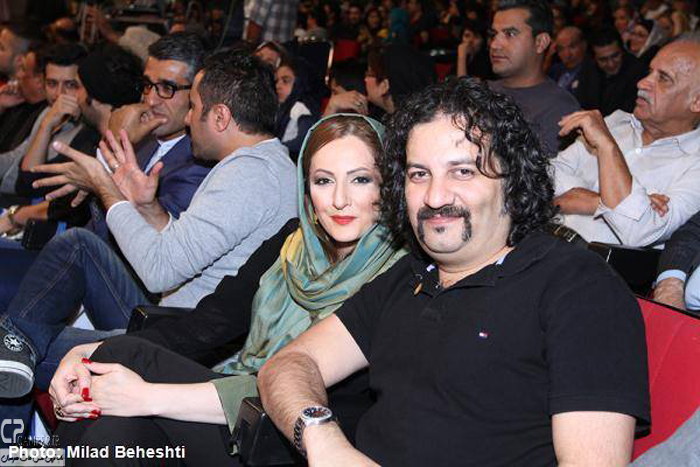شقایق دهقان و همسرش محراب قاسم خانی