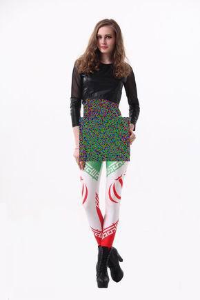 مدل ساپورت,تبلیغ ساپورت با طرح پرچم ایران,ساپورت,مدل ساپورت زنانه,تبلیغ ساپورت,پرچم ایران,عکس,عکس روز,عکس جدید,مانکن لبنانی,شرکت لبنانی