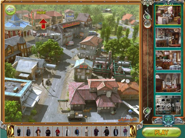 a3 دانلود بازی خواستن رمز و راز2   download the free game Mystery ville 2