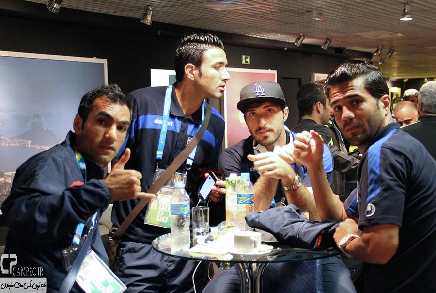 عکس های عزیمت تیم ملی فوتبال ایران به کوریتیبا