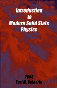 مقدمه ای بر فیزیک حالت جامد مدرن - یوری گالپرین