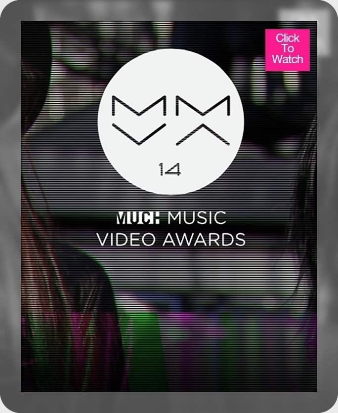 مراسم Muchmusic Video Music Awards 2014