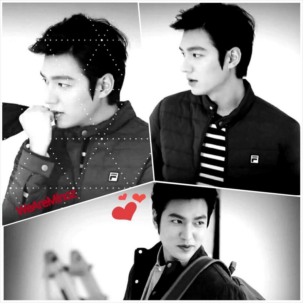 لی مین هو نماشا ღفن کلاب رسمی لی مین هو و پارک شین هیღ - Lee Min Ho new pic for FILA